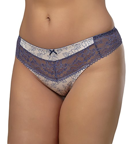 AVA Damen String 1160 Denim