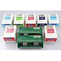 Salvequick®-Refill-Einsätze, Großes FLEXEO-Spar-Set mit 2 Pflasterspendern (7 verschiedene Vorratsboxen an Pflastereinsätzen... preisvergleich bei billige-tabletten.eu