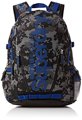 Superdry Men's Camo Mesh Men's Grey Backpack In Size One Size Grey