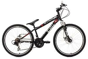 "KS Cycling VTT dirt Noir 26"""