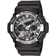 Casio G-Shock – Reloj Hombre Analógico/Digital con Correa de Resina – GA-200-1AER