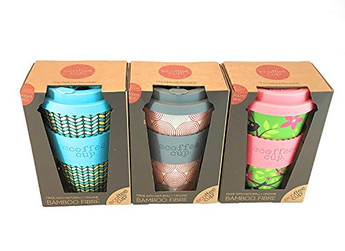 Ecoffee Cup 400 ml – pack de 3