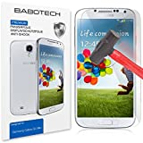 1 x Set BaboTech¨ Premium Panzerfolie Display Schutzfolie fŸr Samsung Galaxy S4 mini Klar Extrem Shock-Absorbierend