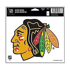 NHL Chicago Blackhawks 20522091 Multi-Use Colored Decal, 5