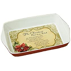 Abbey Press Christmas Pass-it-On Dish, 13.25 by 9 by 2.5