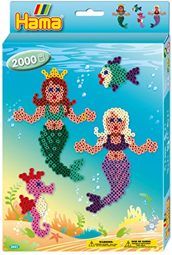 Hama Beads Mermaids Set