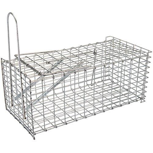 Live Animal Cage (Generic dyhp-a10-code-4612-class-1-Innen + Außenbereich Tür Pest Control CONTR Humane Rattenkäfig Cher keine Trap Live Animal Falle Catcher kein Gift Ratten ca--dyhp-uk10-160819-2471)