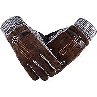 Herren Winter Handschuhe, Youson Girl® Herren Leder Handschuh Winddicht Warme Thermal Handschuh Abriebfest Outdoor Sport Handschuh