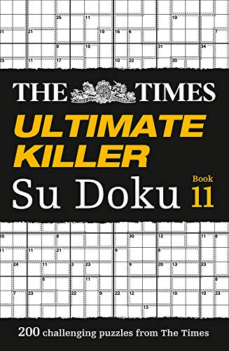 The Times Ultimate Killer Su Doku Book 11 por The Times Mind Games
