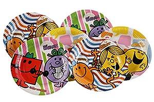 Dynastrib Monsieur Madame platos 9004265, 23cm), multicolor