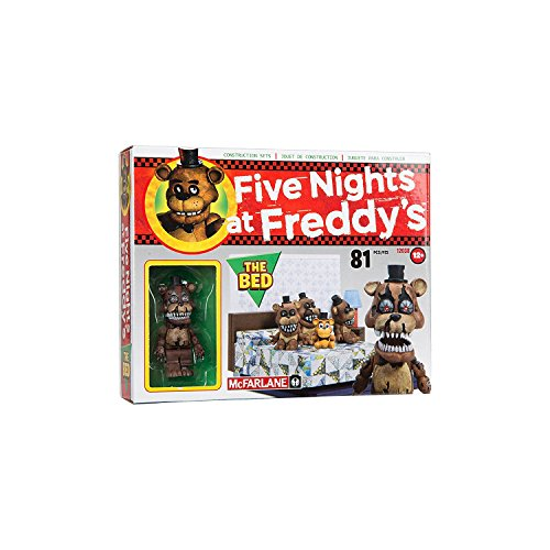 Image of McFarlane Toys Five Nights At Freddy's The Bed Construction Set