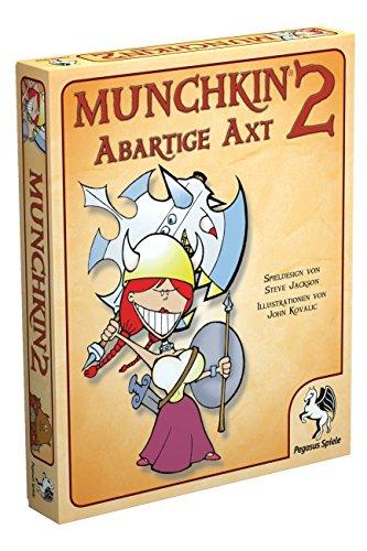 Pegasus Spiele 17212G - Munchkin 2, Abartige Axt (Warcraft-kartenspiel)