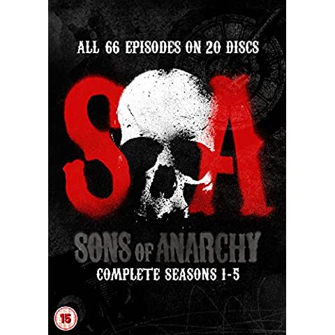 SONS OF ANARCHY-SEASONS 1-5 SONS OF ANARCHY-SEASONS 1-5