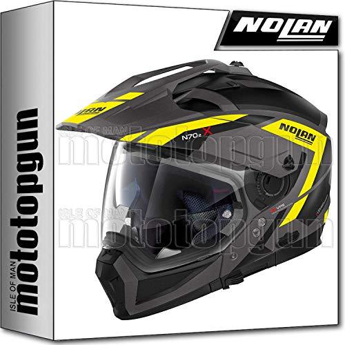 NOLAN CASCO MOTO MODULARE N90-2 HI-VISIBILITY 022 XS
