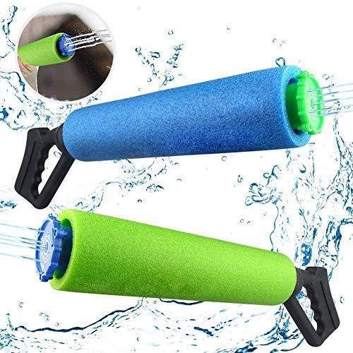 Queta Wasserpistole Spielzeug, Wassersport Komfortables Griffspielzeug,Straight Pull-Hochdruck-Wasserwerfer für Garten Pool Schwimme Party