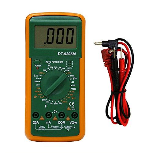 Cutogain Digital Multimeter Multifunktional LCD AC DC Automatische Amperemeter Meter Repair Tool -
