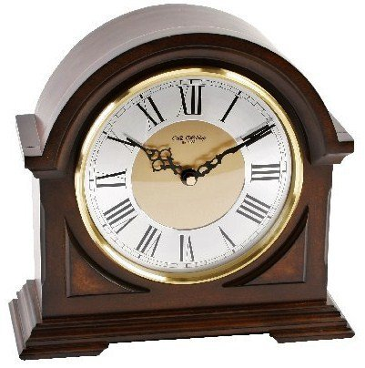 Luxus Holz Glockenton Tischuhr – Bogendesign – Westminster Glockenschlag