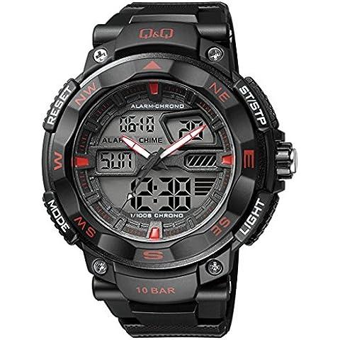 Q y Q Hombres Dual Tiempo Digital N analógico reloj deportivo