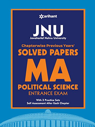 JNU Chapterwise Previous Years' Solved Papers MA Political Science