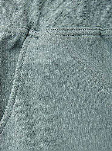 oodji Ultra Femme Pantalon de Sport en Maille Vert (6C00N)