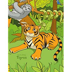 Livre de coloriage Tigres 1