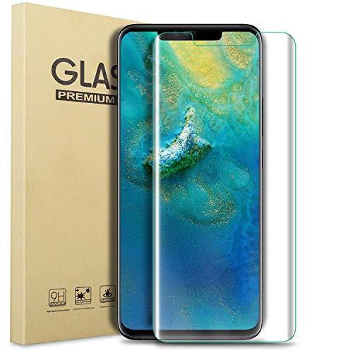 Kugi Huawei Companheiro 20 PRO filme, Huawei Companheiro 20 PRO película protetora [Anti-Brilho e Anti-bolha] [Dureza 9H] Aplicar a Huawei Companheiro 20 PRO Smart Phone