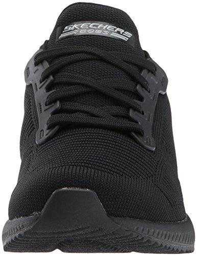 Skechers Bobs Squad-Photo Frame, Sneaker Infilare Donna Nero (Black)