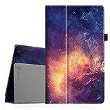 Fintie Medion Lifetab X10313 X10311 X10302 S10351 S10352 MD 99666 Hülle Case - Folio Kunstleder Schutzhülle Tasche mit Ständerfunktion für 10.1 Zoll Medion Lifetab X10313 X10311 X10302, Die Galaxie