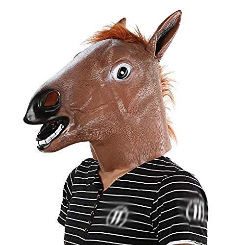 Beängstigend Kostüm Finden - Halloween Maske lustige Latex Kopf Maske Kostüm Halloween Cosplay Party Prop Spielzeug Geschenk Halloween Latex Masken Halloween Requisiten beängstigend lustige Maske für Streich Kostüme Dekoration