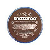 Snazaroo Face and Body Paint, 18 ml - Light Brown (Individual Colour)