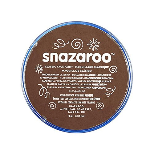 snazaroo-face-and-body-paint-18-ml-light-brown-individual-colour