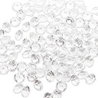 TOAOB 3000 Pieces Clear Scatter Crystals 6mm for Table Decoration
