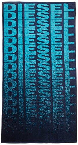 Asciugamano telo mare diesel asciugamano helleri, telo mare 90cmx180cm, stampa logo