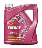 MANNOL Energy 5W-30 API SN/CH-4 Motorenöl, 5 Liter