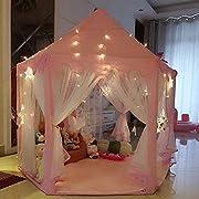 Descrizione: * The Princess Castle Play Tenda Fairy Princess Castle Tent è il nuovissimo design di UniqueVC. Un regalo adorabile per tutti i bambini. * Giocando travestiti, divertiti con gli amici, o leggi, ecc., I tuoi bambini adoreranno si...