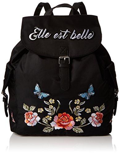 Imagen de new look  elle belle embroidery, bolsos  mujer, multicolour black pattern , 14.5x37.5x29 cm w x h l