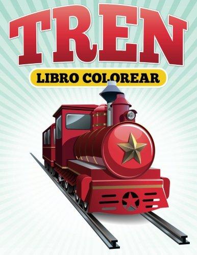 Libro Colorear Tren