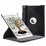 EasyAcc iPad 2018/2017 9.7 Hülle 360 Grad Drehung Schutzhülle Flip Case Book Cover Hüllen...