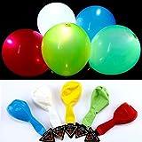 Aedo Ballon de Baudruche Anniversaires LED Intégrée Lumineux Décoration Ballon LED Decoration De Fete la Lumière de Ballon Lumineuse pour Mariage Soirée Fête (15pcs)