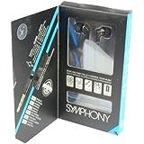 iFrogz Symphony Casque intra auriculaire avec microphone Bleu