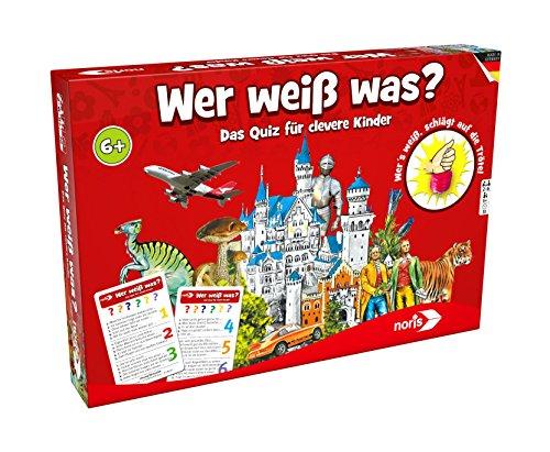 """Preisvergleich Produktbild Noris Spiele 606011635 - """"Wer weiß was"""" Kinderspiel"""