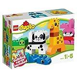 LEGO DUPLO 10573 - Lustige Tiere | Spielzeug für Kinder ab 1,5 Jahren