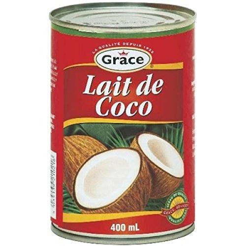 Grace lait de coco en boîte 400ml - ( Prix Unitaire ) - Envoi Rapide Et Soignée