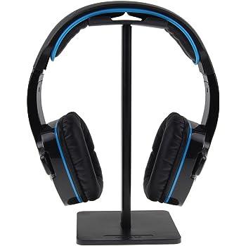 ISWEES Mobile Headset Stand Supporto per Cuffie Poggia Auricolari in  Alluminio d2da2827c05a