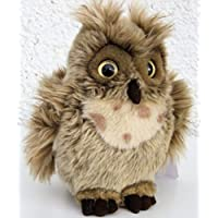 Pequeñas orejas Horned Owl uralense sokoke lechuza de peluche * 19 cm * Peluche de peluche