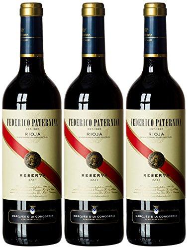 Paternina ReservaTinto Rioja Vino- 3 x 750 ml- Total 2250 ml