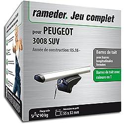 Rameder Pack Barres de Toit Pick-Up pour Peugeot 3008 SUV (111287-36935-54-FR)