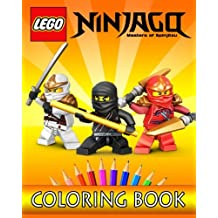 LEGO NINJAGO Movie: Coloring Book for Kids