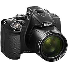 "Nikon P530 - Cámara compacta de 16.1 Mp (pantalla de 3"", zoom óptico 42x, vídeo Full HD), negro (importado)"