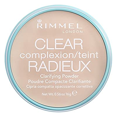 Rimmel London Clear Complexion Clarifying Powder, Transparent from Rimmel London